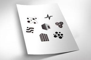 パンフレット・会社案内:ロゴ