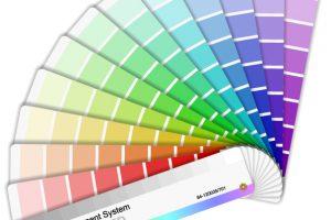 印刷の色合い
