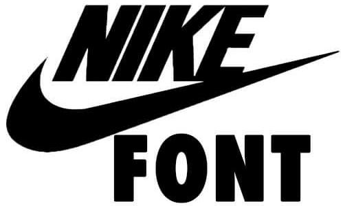 Nike-font