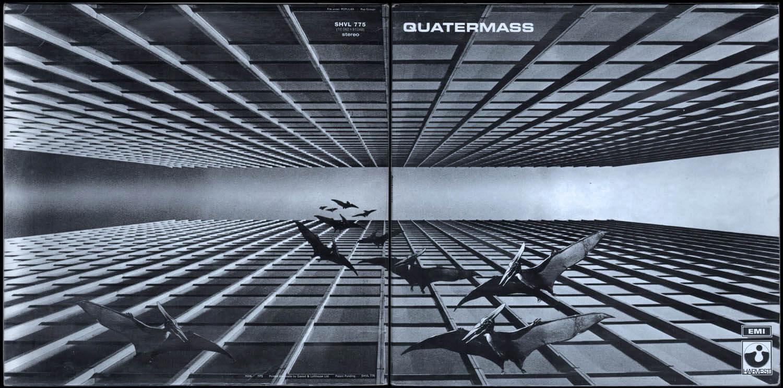 CDジャケットデザイン|Quatermass