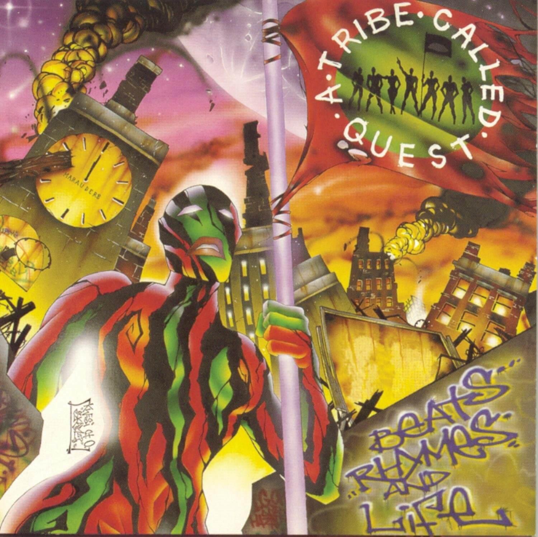 CDジャケットデザイン|A Tribe Called Quest