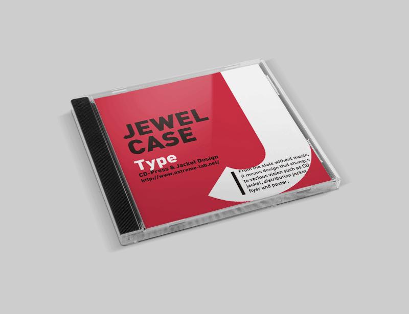 ジュエルケース|CDプレス