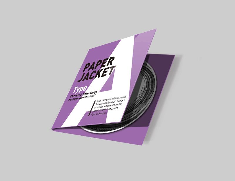 紙ジャケット(A式)|CDプレス
