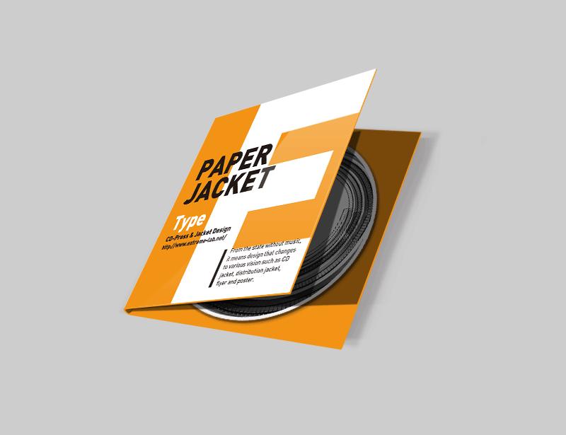 紙ジャケット(E式)|CDプレス