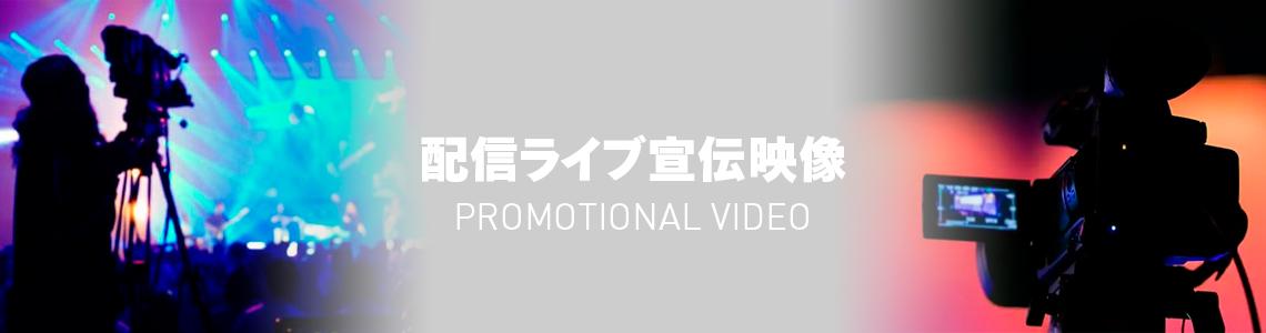 配信ライブ宣伝映像