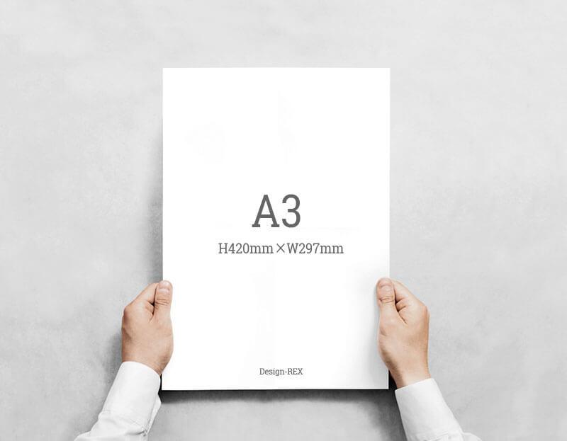 A3サイズ:H420mm×W297mm
