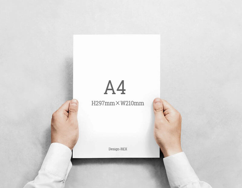 A4サイズ:H297mm×W210mm