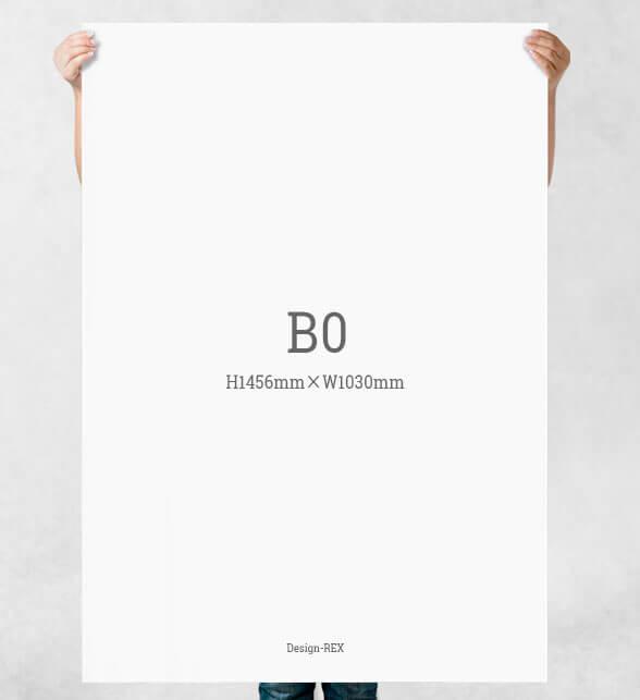 B0サイズ:H1456mm×W1030mm